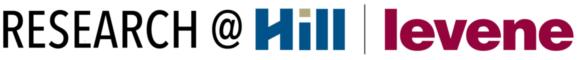 Hill/Levene Research @ URegina