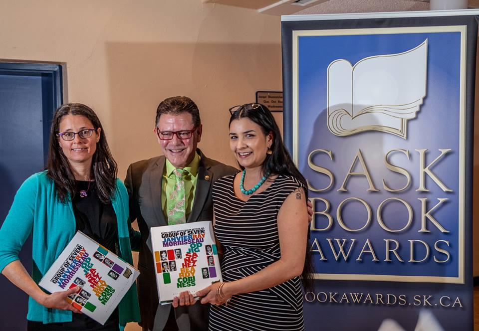 Faculty member presents Publishing Award at Sask Book Awards
