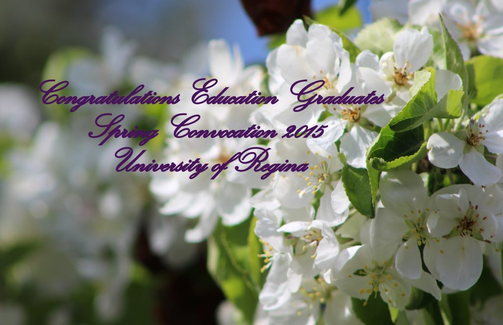 Education students recognized at Spring Convocation 2015