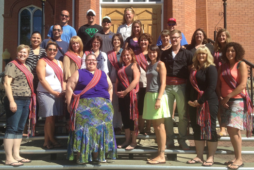 First Cohort of GDI Master of Education Graduates