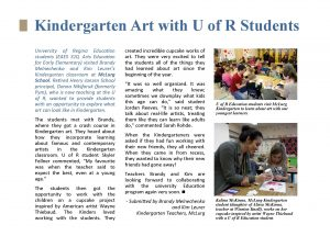 EAES310 Students featured in RBE newsletter