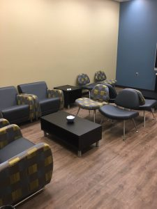 New Education Graduate Student Lounge (Ed 244) Photo courtesy of Education Graduate Studies Office