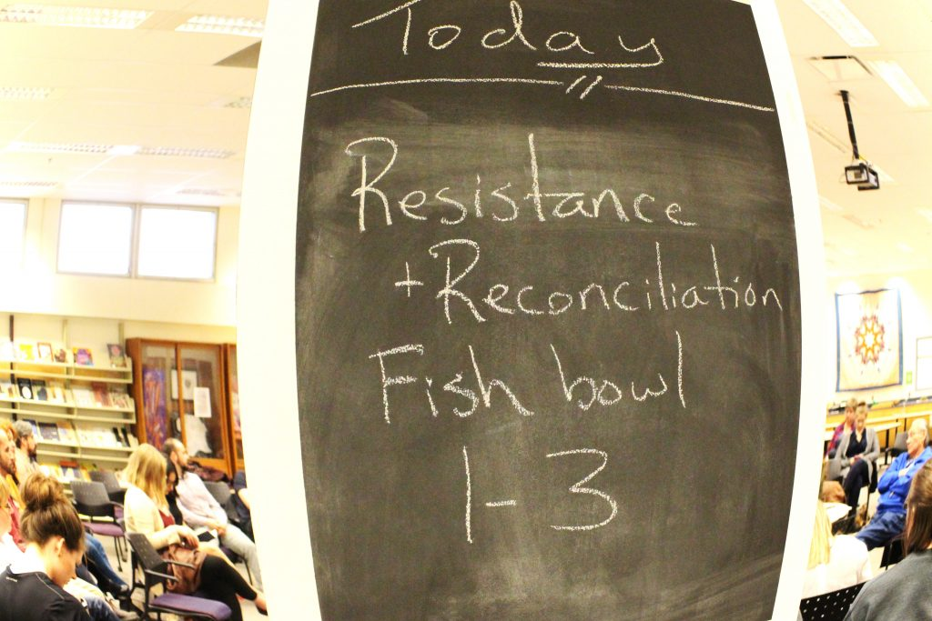 Resistance and Reconciliation Fishbowl Panel Discussion