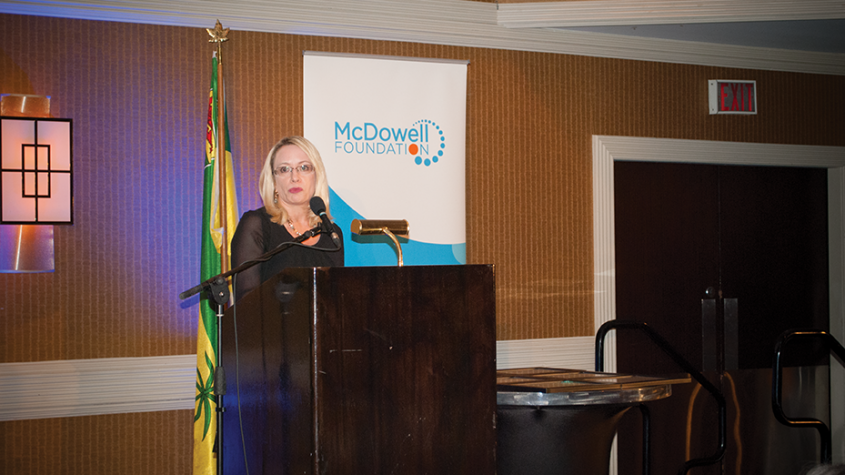 Tupper stresses importance of McDowell Foundation in current climate