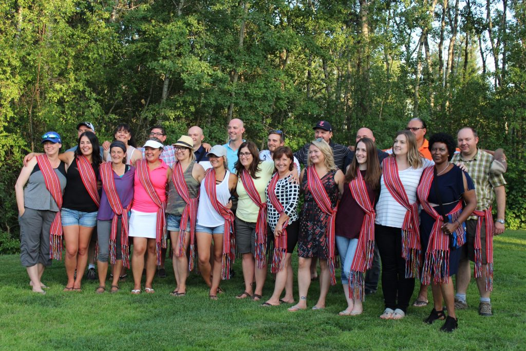Second cohort of GDI MEd students hold graduation BBQ