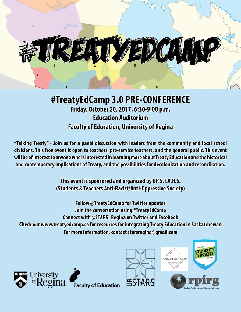 #TreatyEdCamp 3.0 will host preconference discussion