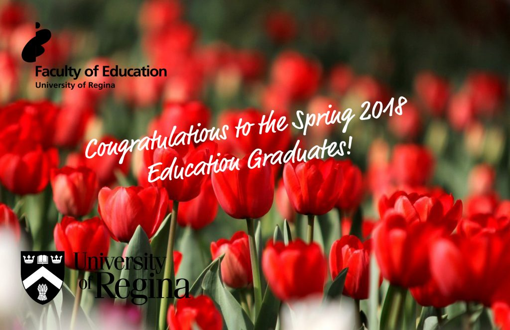 Congratulations to the Spring 2018 Education Graduates