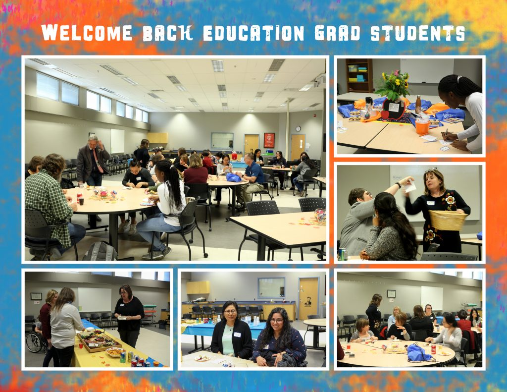 Welcome back Education graduate students