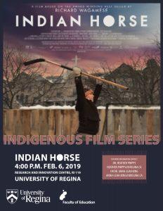 Indigenous Film Series presents Indian Horse