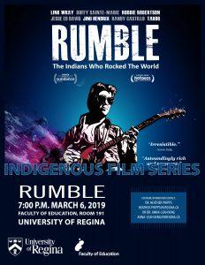 Indigenous Film Series presents RUMBLE