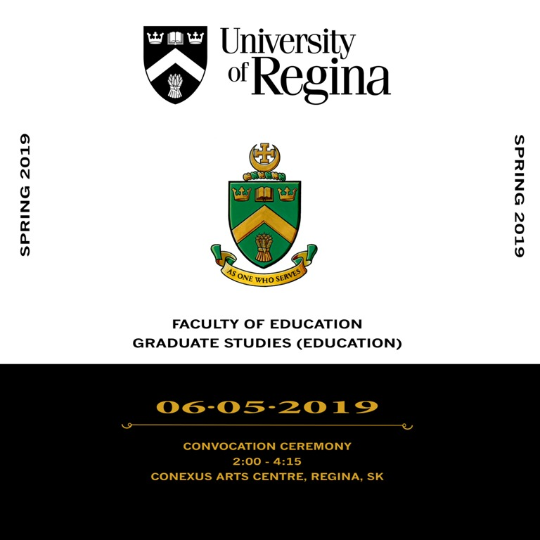 Convocation Spring 2019