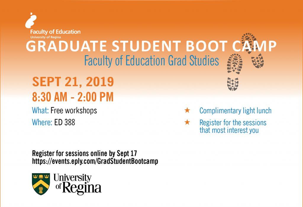 Graduate student boot camp