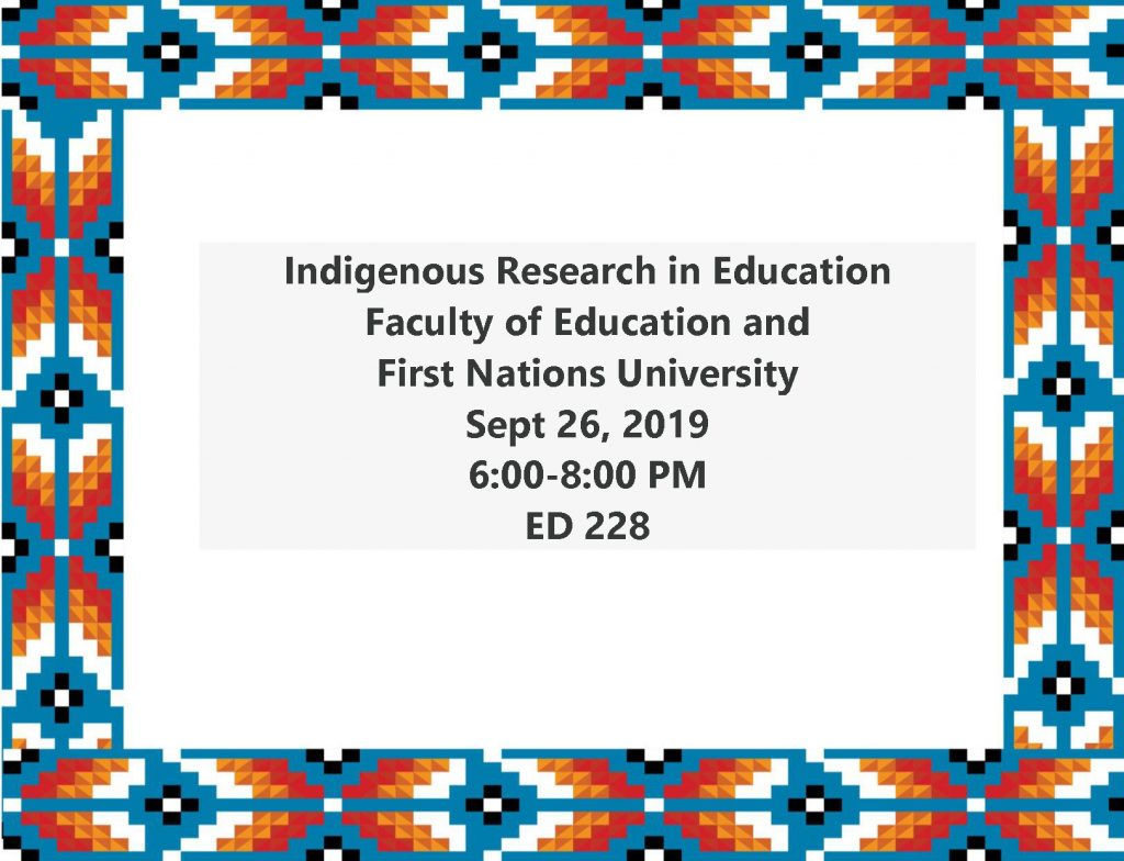 Annual Indigenous Research in Education