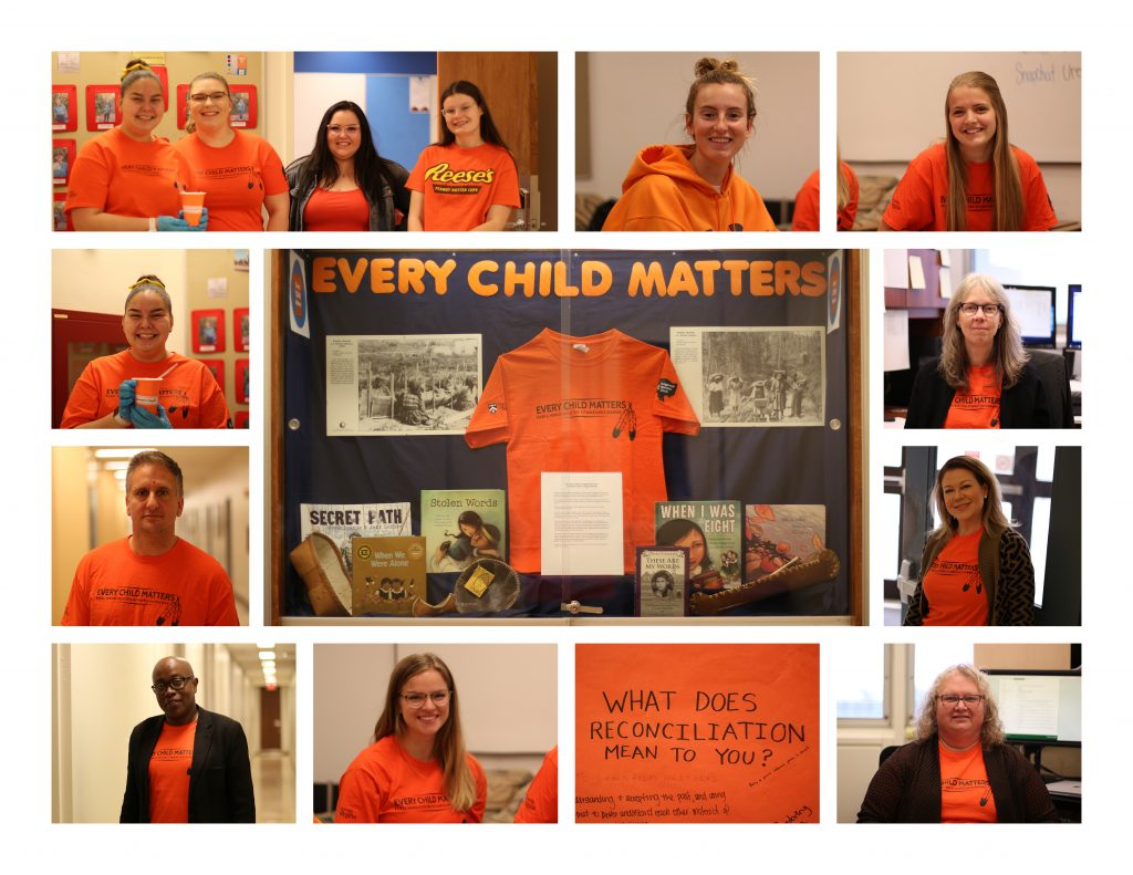 Orange Shirt Day at the Faculty of Education