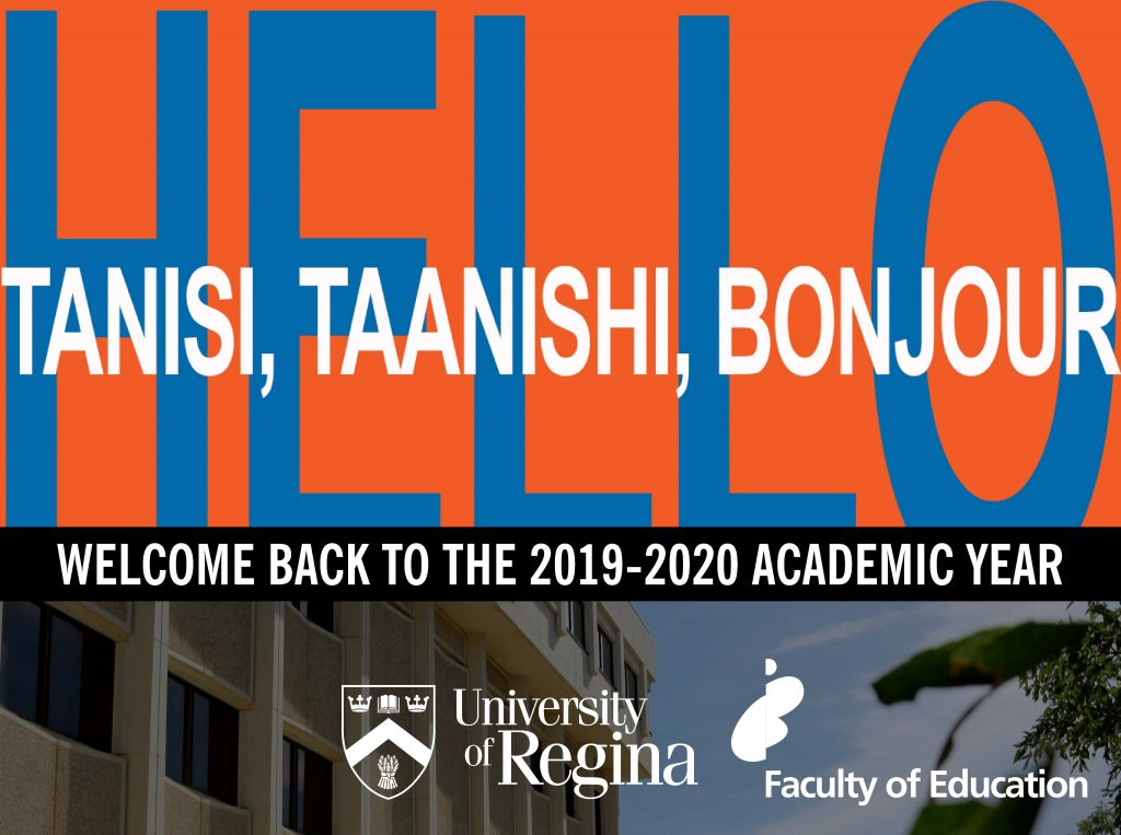 Welcome and Welcome Back!