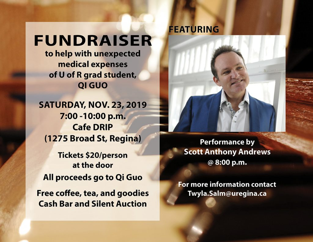 Fundraiser to help grad student with unexpected medical expenses