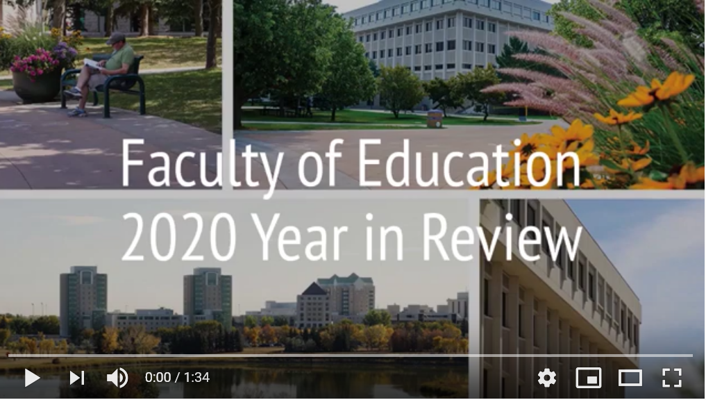 2020 Faculty of Education Year in Review